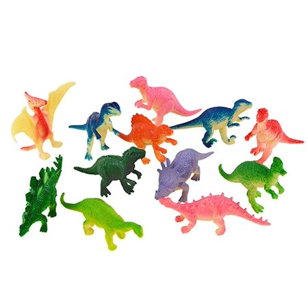"3"" MINI DINOSAURS, Case of 2880"