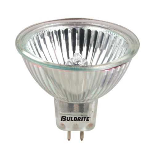 Bulbrite 639020 Pack of (5) 20 Watt Dimmable MR16 Shaped GU5.3 Base Halogen Bulb