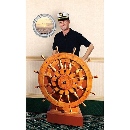 Captains Wheel Standee