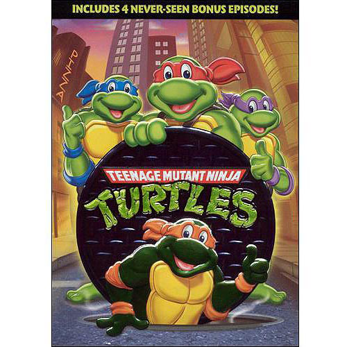 TEENAGE MUTANT NINJA TURTLES V01 2004 (DVD)