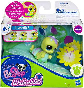 Littlest Pet Shop Walkables Pet Figure, Inchworm