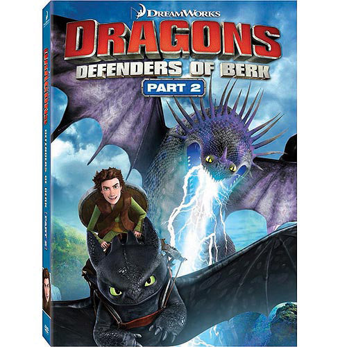 Dragons: Defenders Of Berk, Part 2 (DVD + Digital HD + Game Offer) (Walmart Exclusive) (With INSTAWATCH) (Widescreen)
