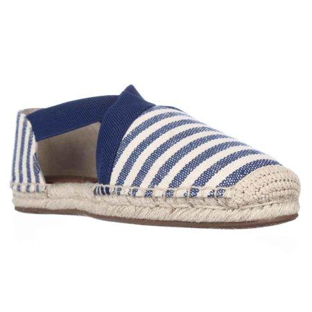 Womens MICHAEL Michael Kors Dana Espadrille Flats - Natural/Blue