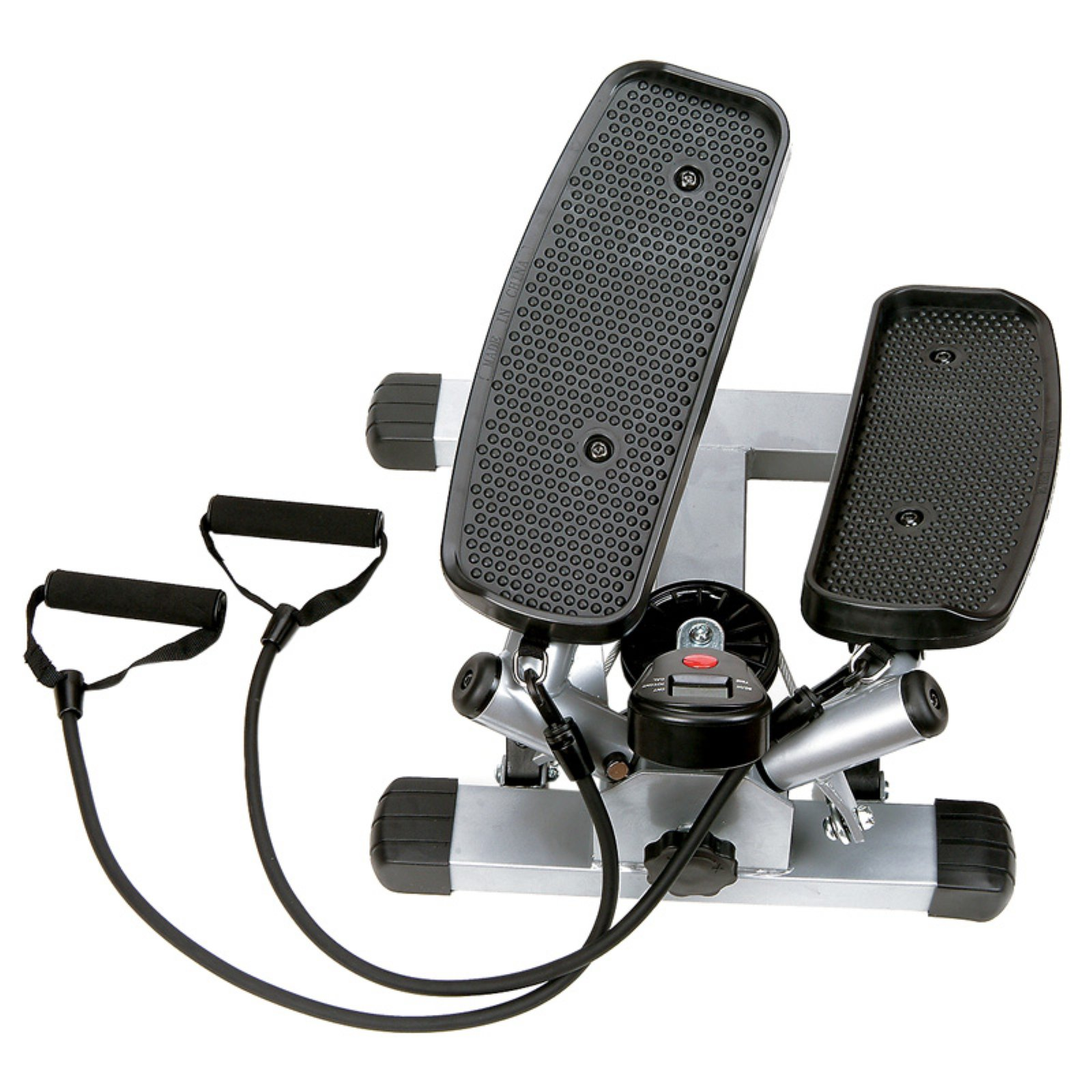 Sunny Health and Fitness Twist Stepper with Resistance Band