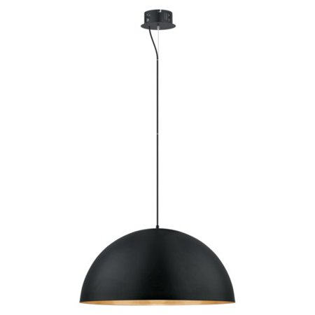 Integrated Bowl - Corrigan Studio Rawson 1 LED Integrated Bulb Bowl Pendant