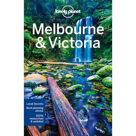 Lonely Planet Melbourne & Victoria - (Fit Melbourne Map)