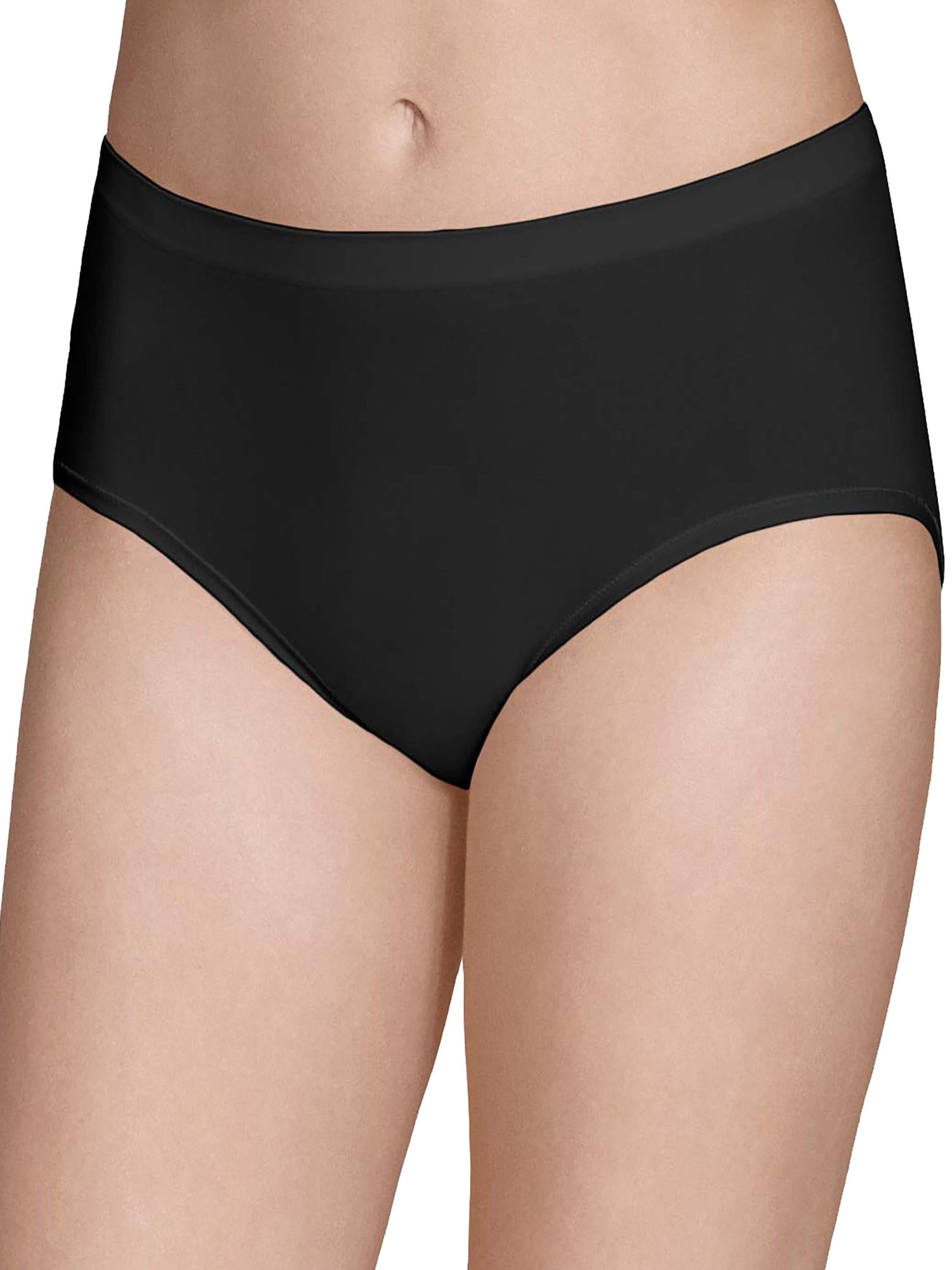 844b51bf70b4 Fruit of the Loom - Women's Seamless Low-Rise Brief Panties - 6 Pack -  Walmart.com
