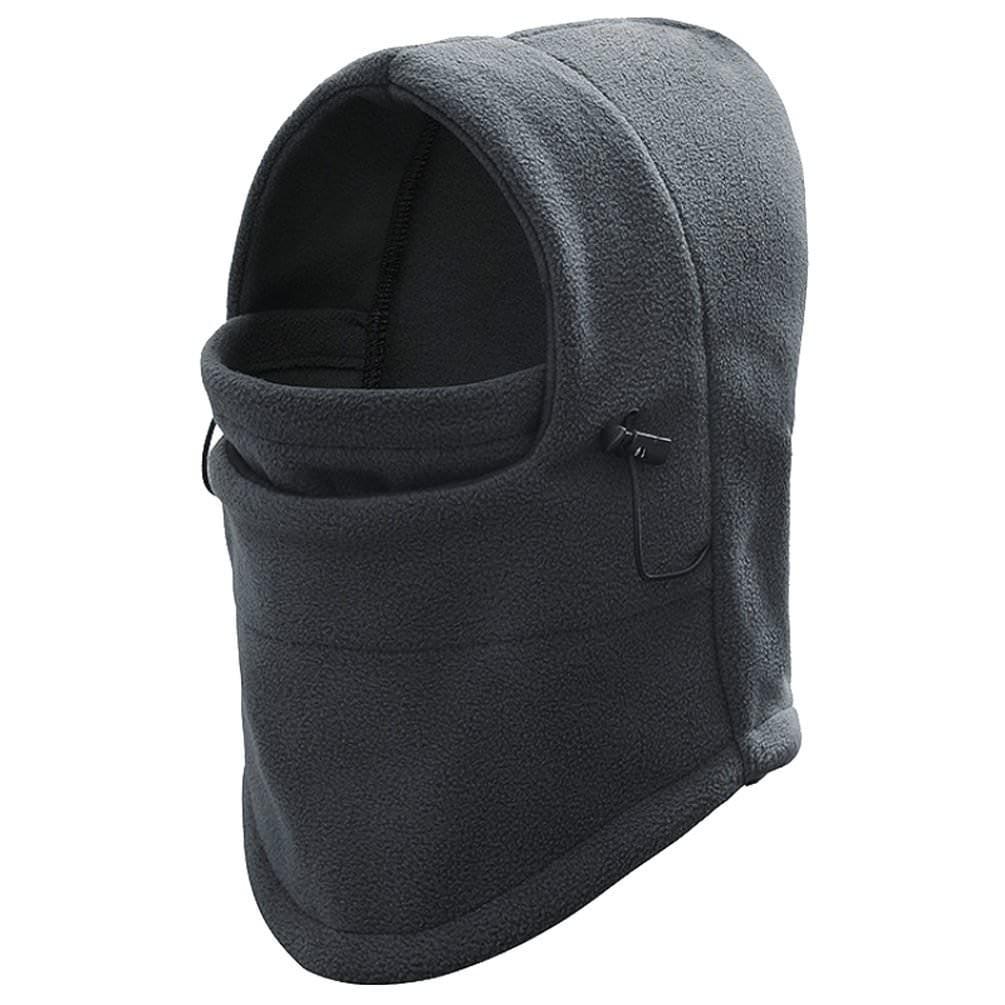 Adjustable Fleece Windproof Ski Face Mask Balaclavas Hood grey by PureAid