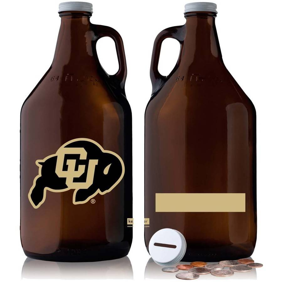 NCAA Colorado Buffaloes 64 oz Amber Jug
