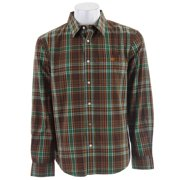 Planet Earth Orchard L/S Shirt Brown Mens