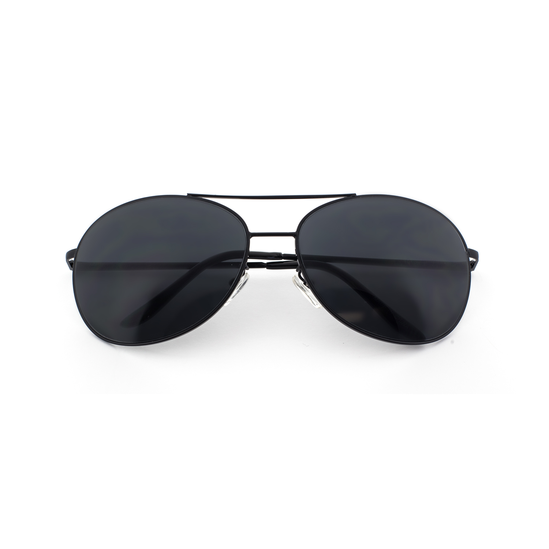 7570a25c479 MLC Eyewear Alex Rectangular Retro Classic Fashion Aviator Sunglasses Black  Edition