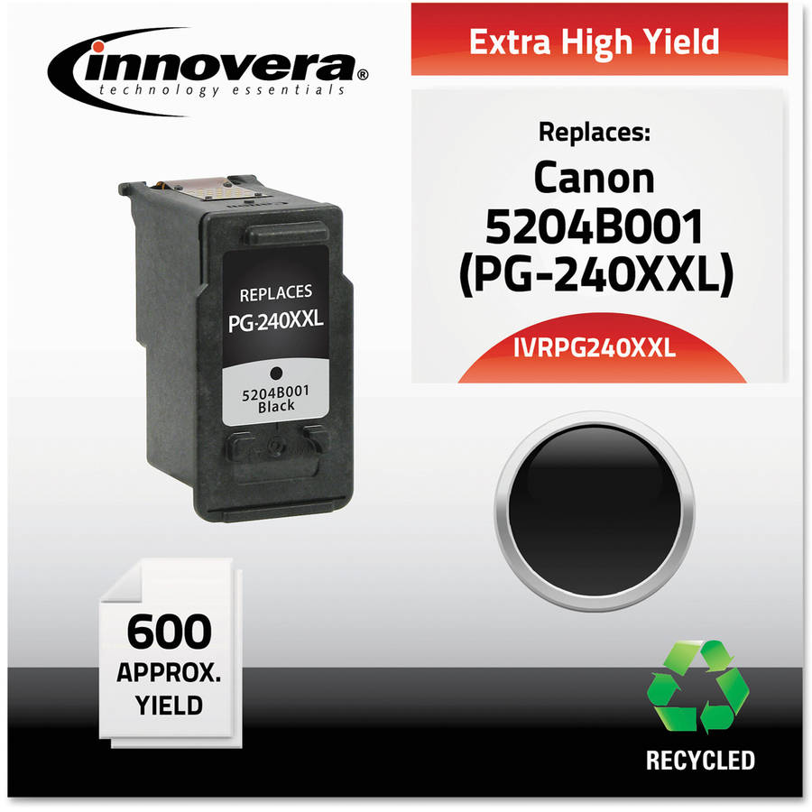 Innovera PG240XXL Compatible Reman 5204B001 Extra-High-Yield Black Ink Cartridge