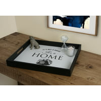 Deals on Mainstays Its Not A House Its a Home Decorative Wood Tray