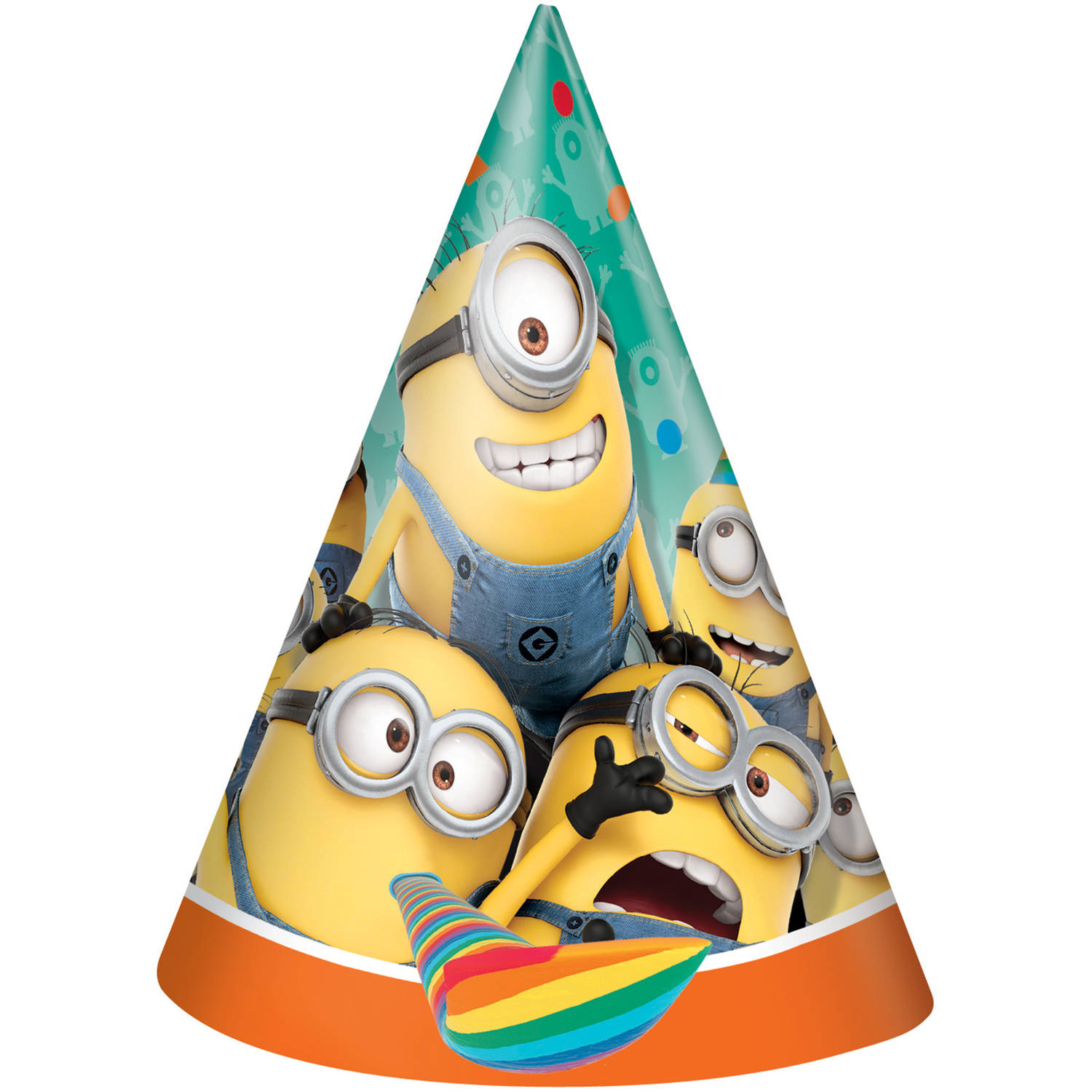Despicable Me Minions Party Hats, 8ct