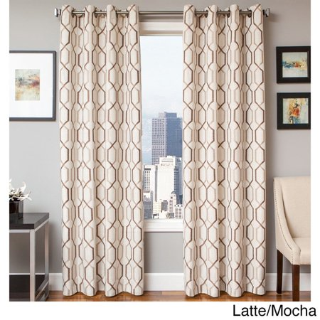Softline Maxwell Lined Grommet Top Curtain Panel