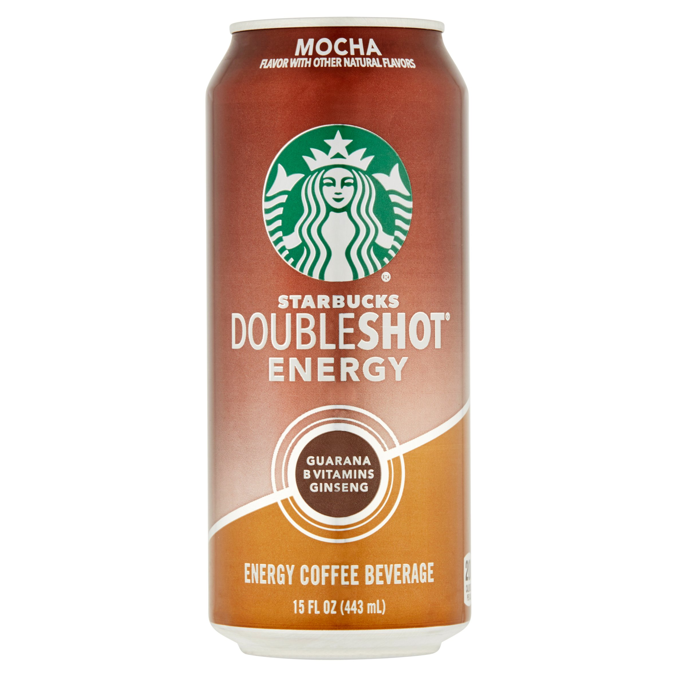 Starbucks Doubleshot Mocha Energy Coffee Beverage, 15 fl oz