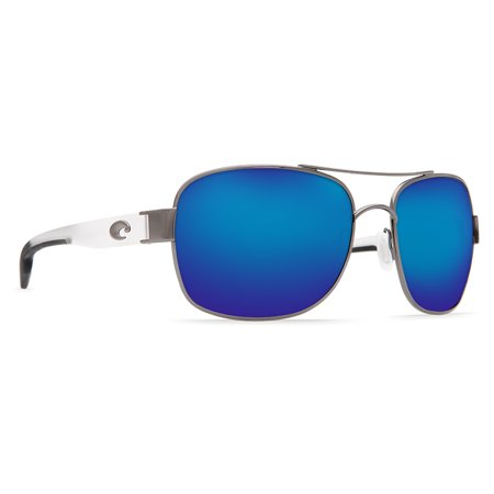 Cocos Gunmetal With Crystal Temples - Crystal Logo Sunglasses