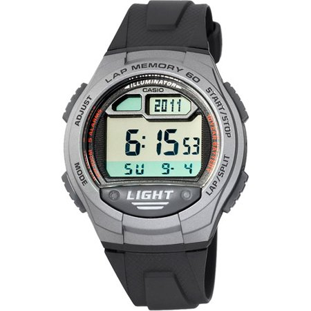 Casio Men's 60-Lap Runners Watch, Resin Band