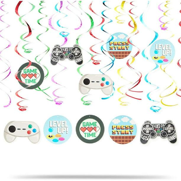 30x Hanging Swirl Foil Ceiling Supplies Spiral Wedding Birthday Party Decoration