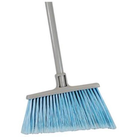 Home Pro Angled All Purpose Broom Dual Fiber Head Only One