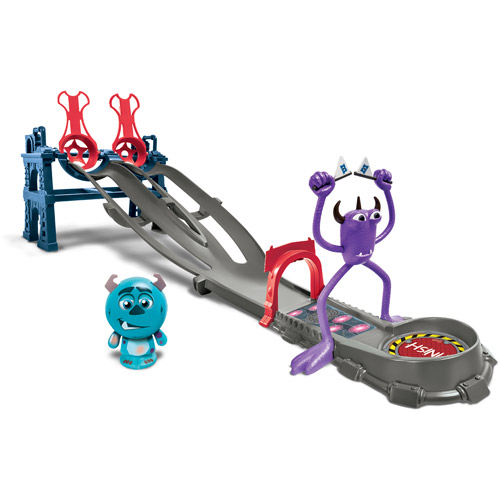 Monsters University Toxic Race Play Set
