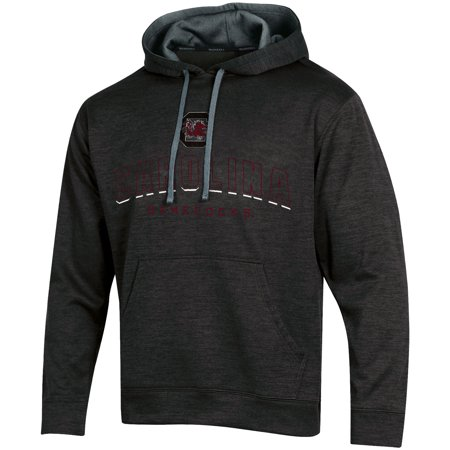 South Carolina Gamecocks Crew Sweatshirt (Men's Russell Black South Carolina Gamecocks Synthetic Pullover Hoodie)