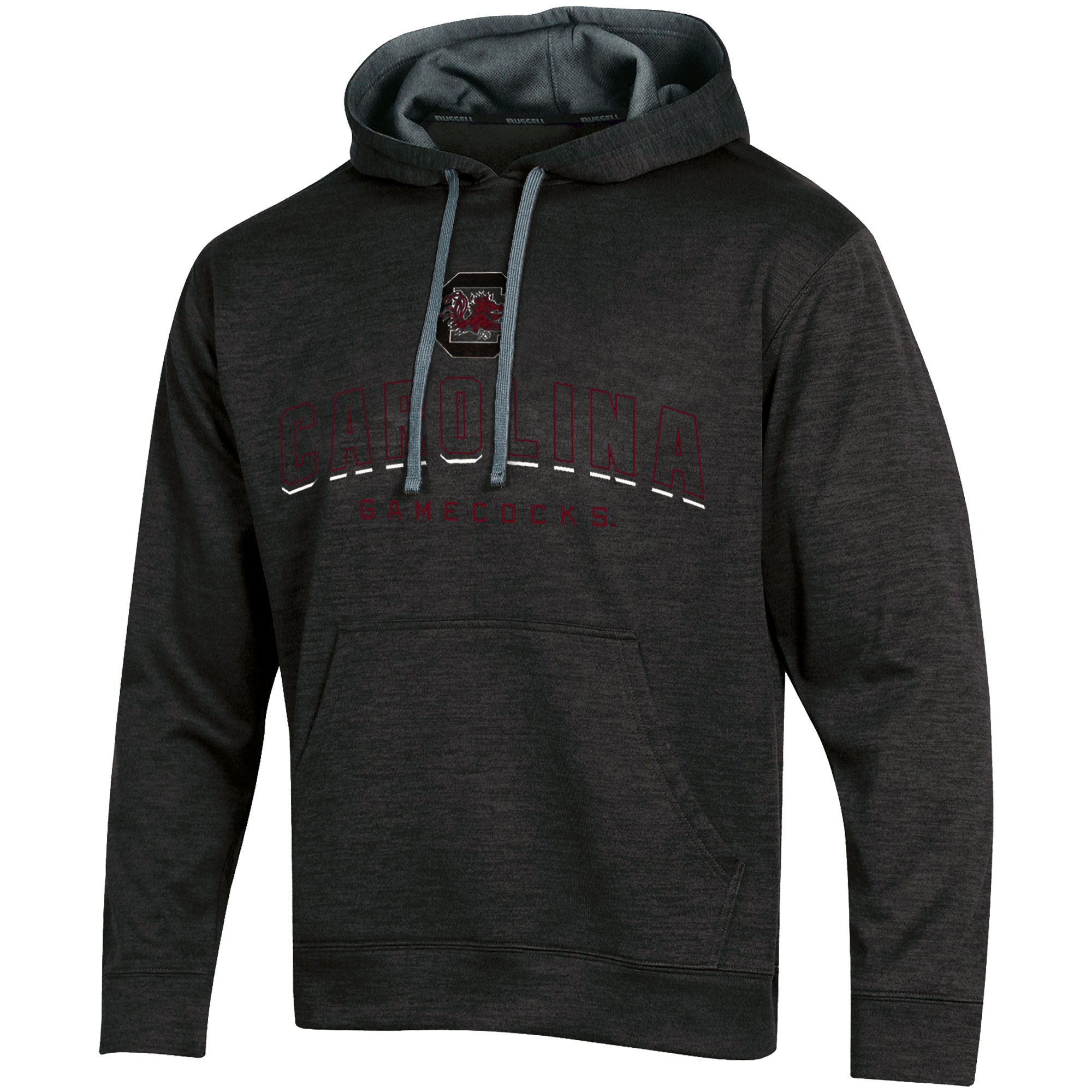 Men's Russell Black South Carolina Gamecocks Synthetic Pullover Hoodie
