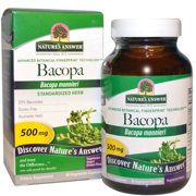 Nature s Answer  Bacopa  500 mg  90 Vegetarian Capsules