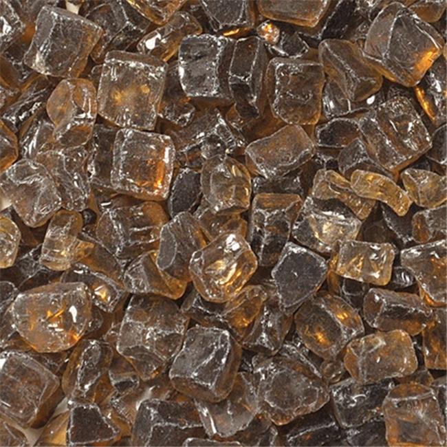 American Fireglass AF-CP12-10-J 1/2'' Fireglass Gems - Copper