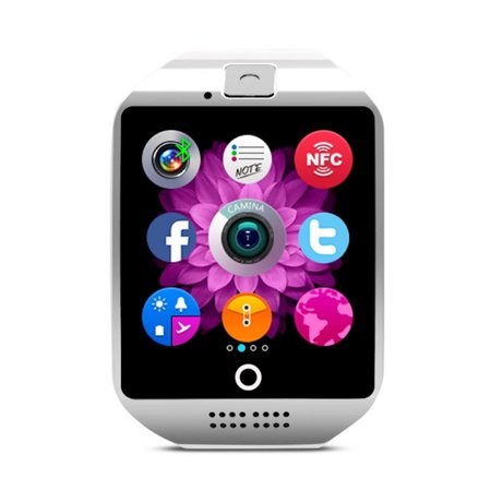 SNHENODA Smart Watch,Bluetooth Smartwatch Fitness Watch Wrist Phone Watch Touch Screen Waterproof Fitness Tracker with Heart Rate Monitor Pedometer Sports Activity Tracker Watch for Men Women