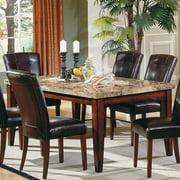 Steve Silver Montibello Marble Top Rectangular Dining Table