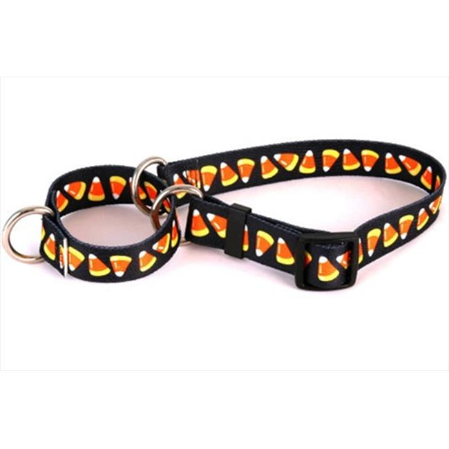 Yellow Dog Design M-CC100XS Candy Corn Martingale Collar - Extra Small