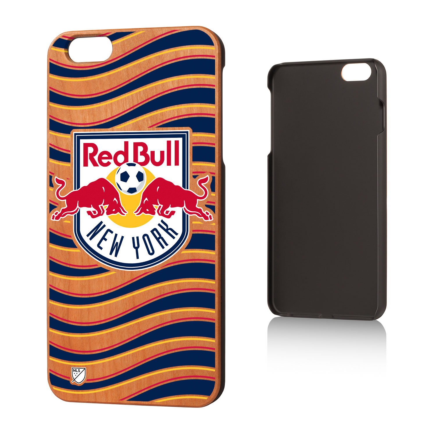 New York Red Bulls RED BULLS Wave Cherry Case for iPhone 6 Plus