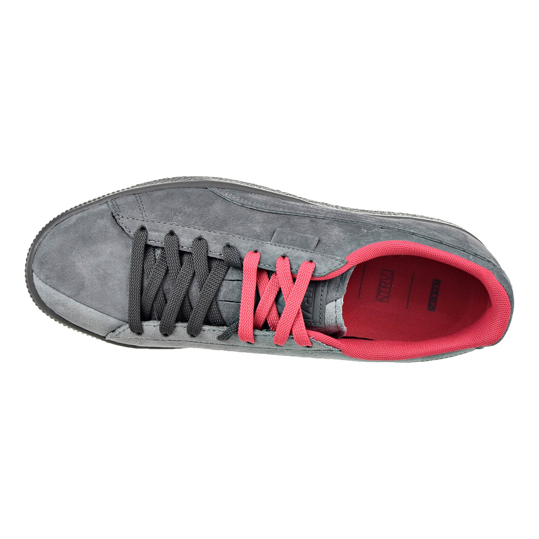 34dca7f18d90 PUMA - Puma Men s X Staple Clyde High Rise   Glacier Gray Ankle-High Suede Fashion  Sneaker - 13M - Walmart.com