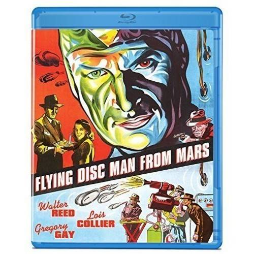 Flying Disc Man From Mars (Blu-ray) OLIBROF1122