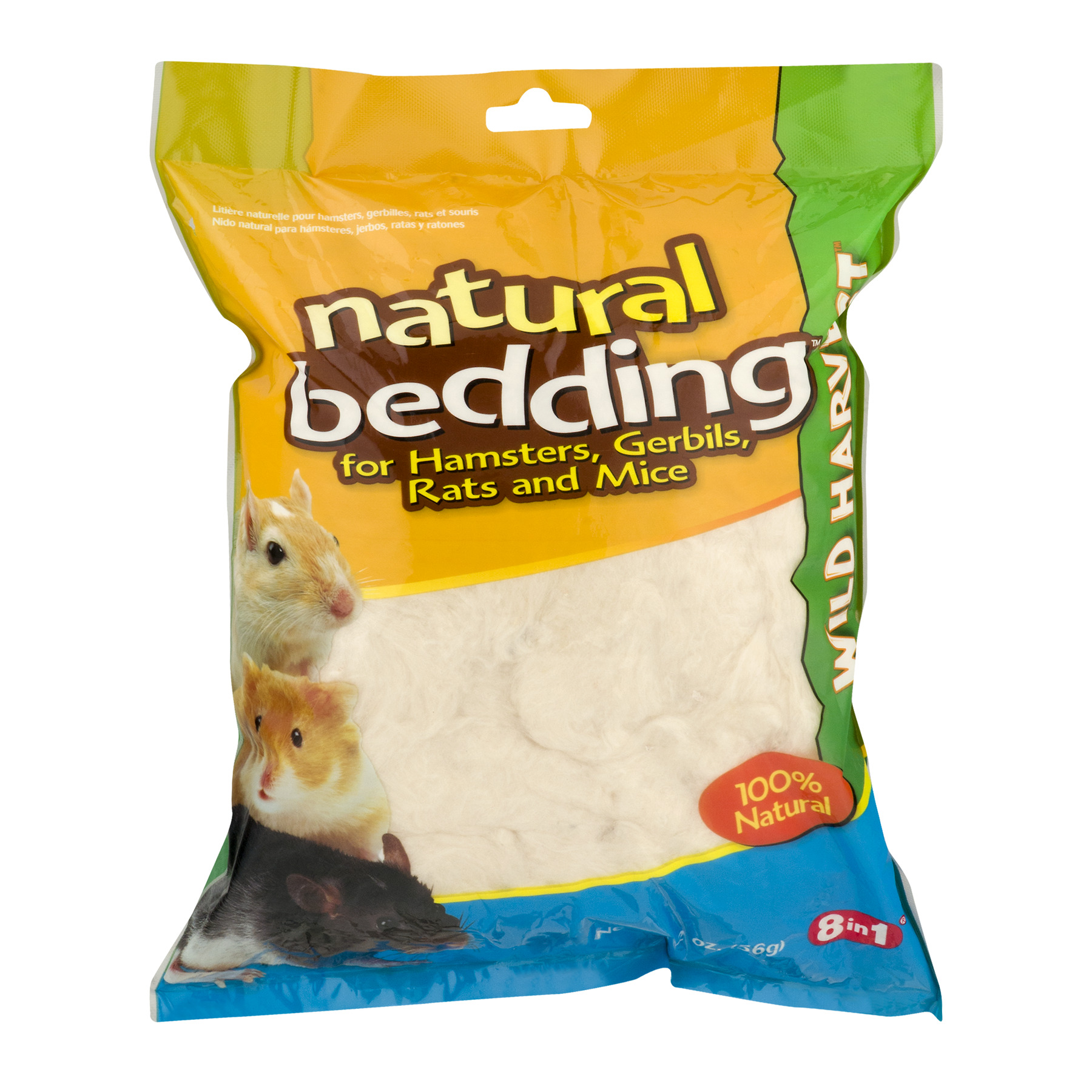 Wild Harvest Natural Bedding for Hamsters, Gerbils, Rats and Mice, 2.0 OZ - Walmart.com