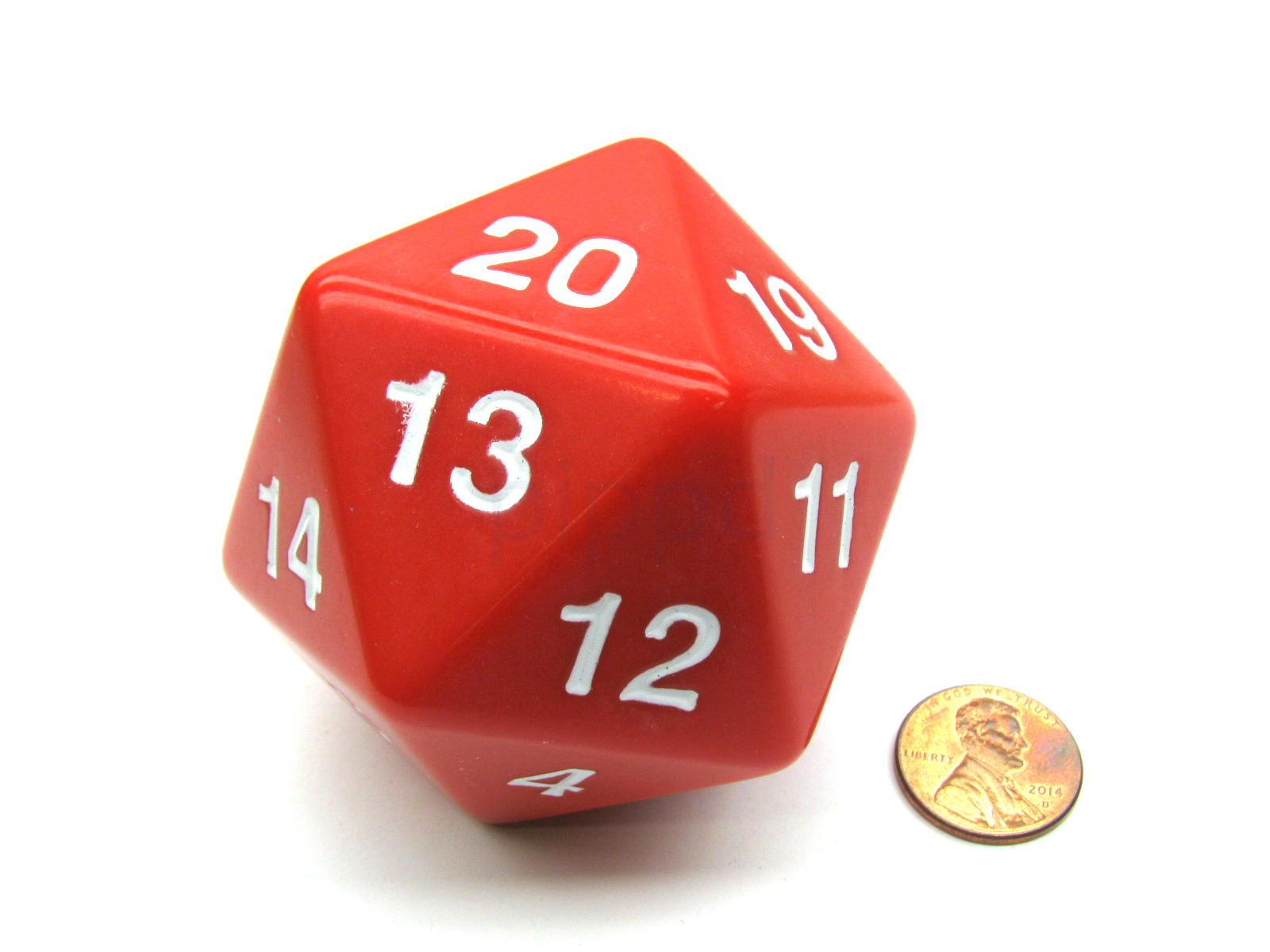 Double Dice D20 Clear Koplow Games GAMING SUPPLY BRAND NEW ABUGames