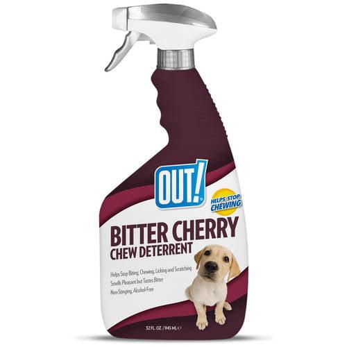 OUT! Bitter Cherry Dog Chew Deterrent, 32 oz