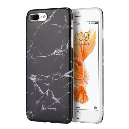 Iphone 8 Plus Case  Iphone 7 Plus Case  By Insten Marble Rubber Tpu Case Cover For Apple Iphone 7 Plus 8 Plus