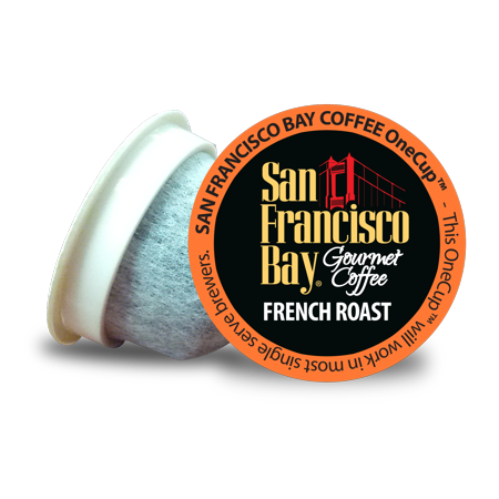 San Francisco Bay OneCup Coffee Pods, French Roast, 80 Count