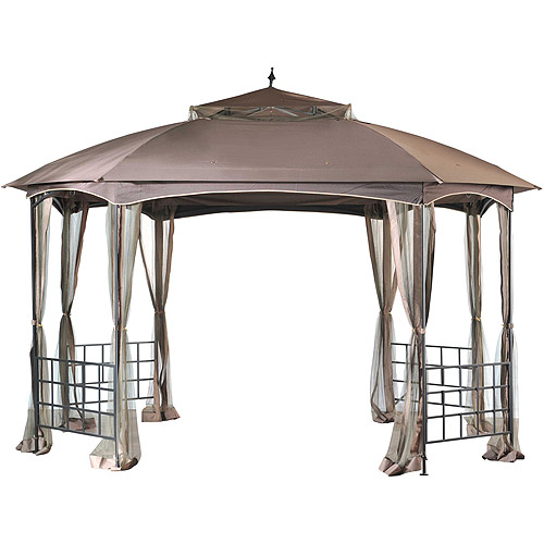 Sunjoy Pylon Gazebo, 12' x 10' by Sunjoy