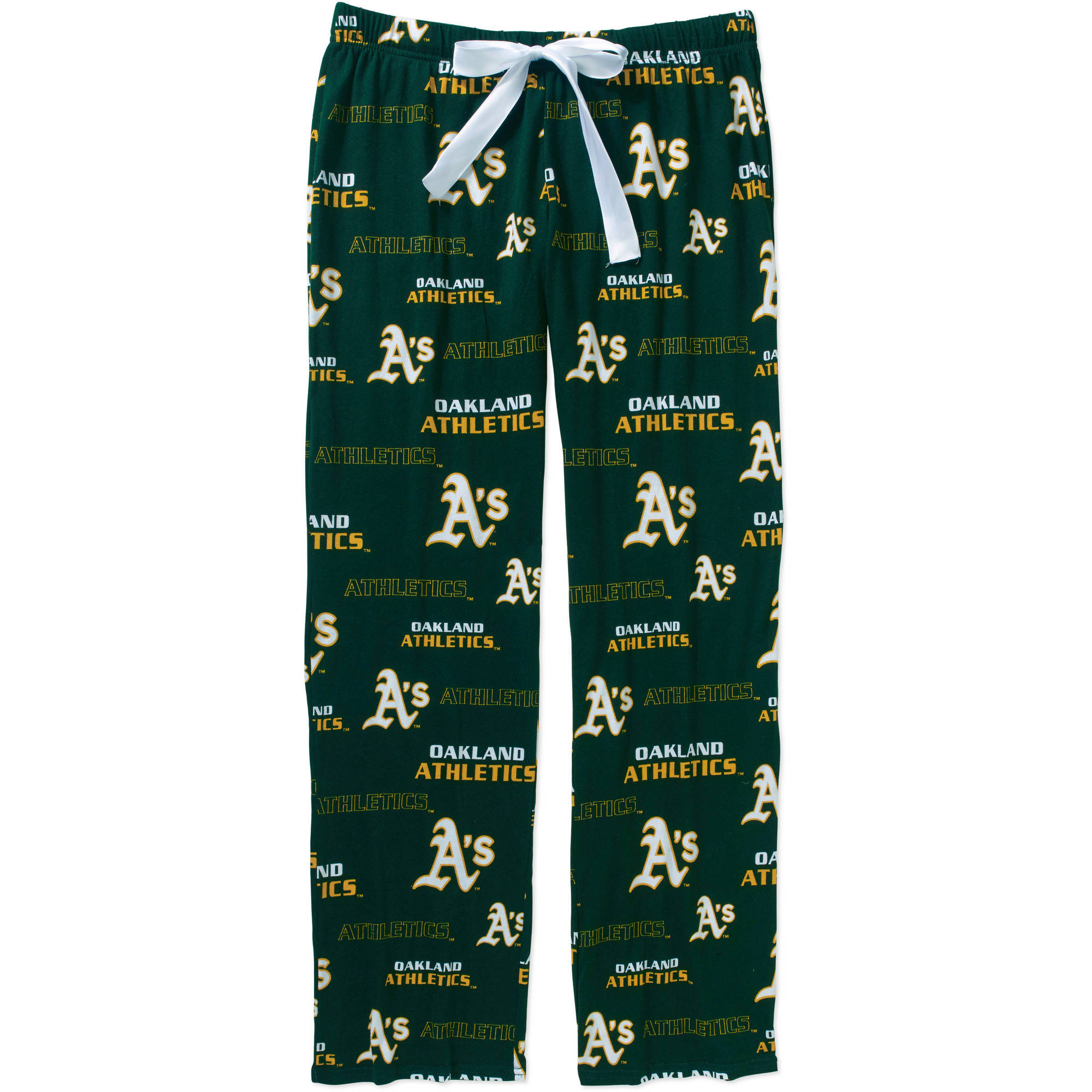 MLB Women's Oakland A's Knit Sleep Pants by