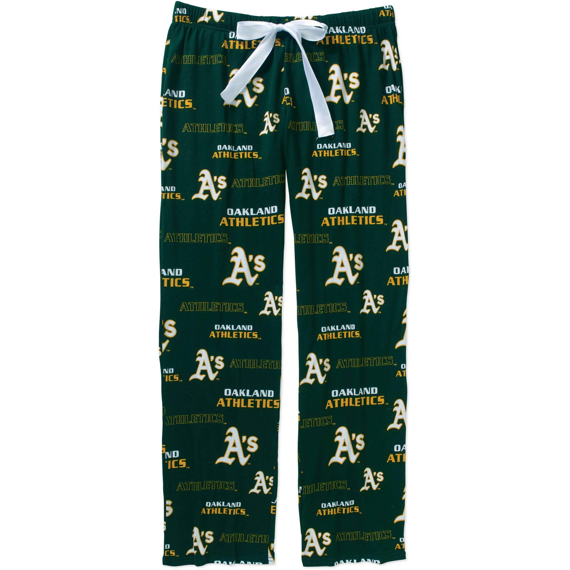 MLB Women's Oakland A's Knit Sleep Pants