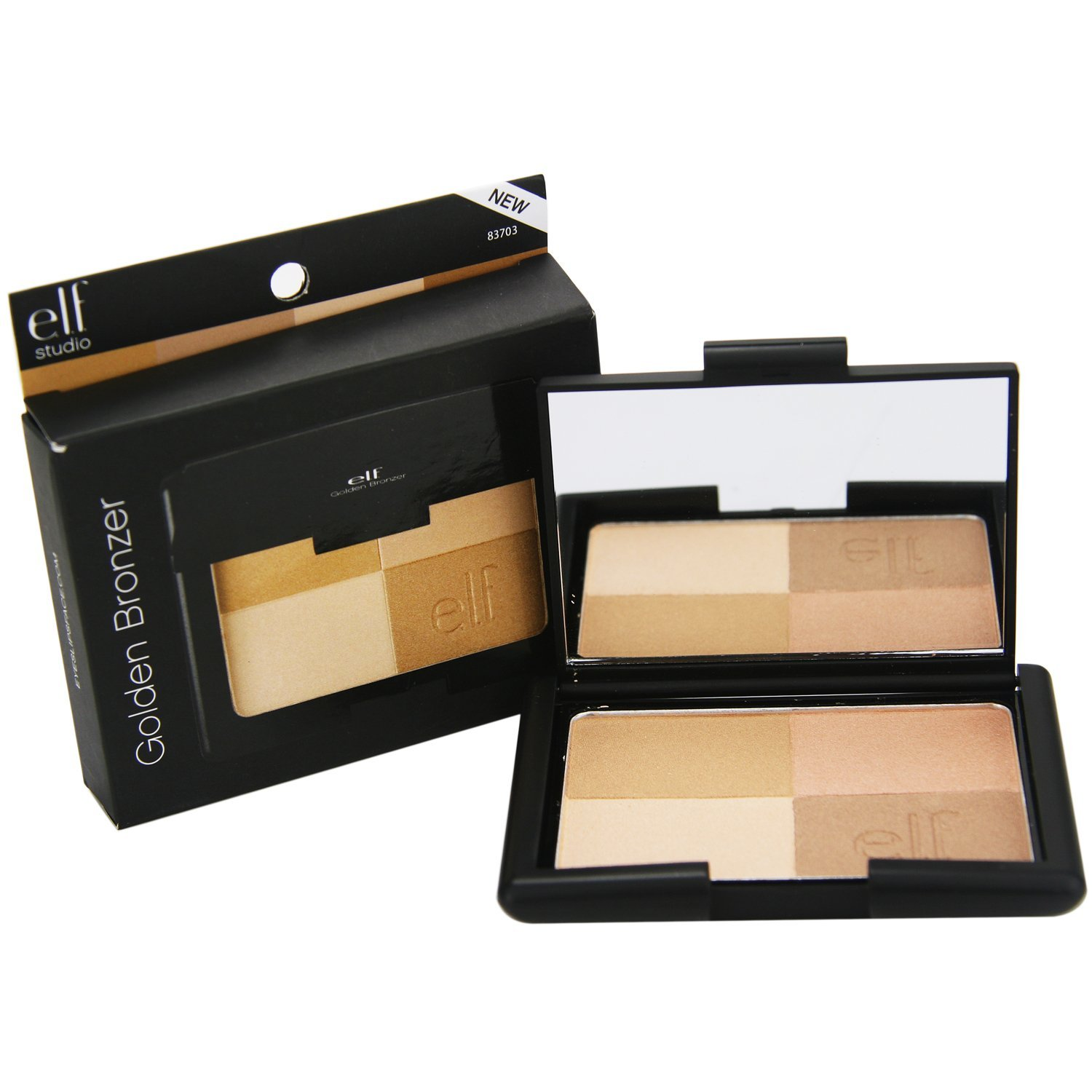 e.l.f. Bronzers, Golden Bronzer, Healthy looking glow By e.l.f. Cosmetics