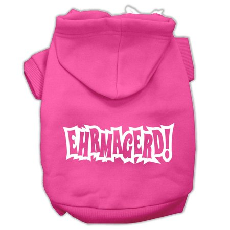 Ehrmagerd Screen Print Pet Hoodies Bright Pink Size Lg (14) A poly/cotton sleeved hoodie for cold weather days, double stitched in all the right places for comfort and durability!Product Summary : New Pet Products/Screen Print Hoodies/Ehrmagerd Screen Print Pet Hoodies@Pet Apparel/Dog Hoodies/Screen Print Hoodies/Ehrmagerd Screen Print Pet Hoodies@Pet Apparel/Dog Hoodies/Screen Print Hoodies COPY/Ehrmagerd Screen Print Pet Hoodies