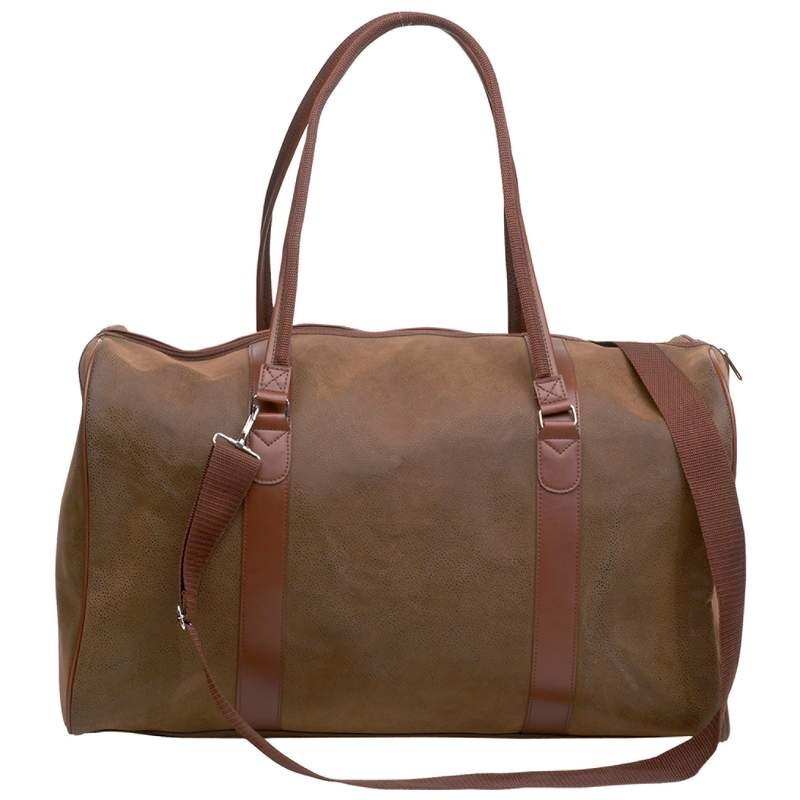 """Embassy Travel Gear Faux Leather 21"""" Tote Bag by Maxam"""