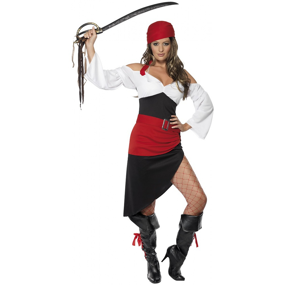 Sassy Pirate Wench Adult Costume - Small