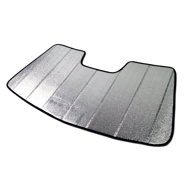 Tuningpros SS-004 Custom Fit Silver And Grey Windshield