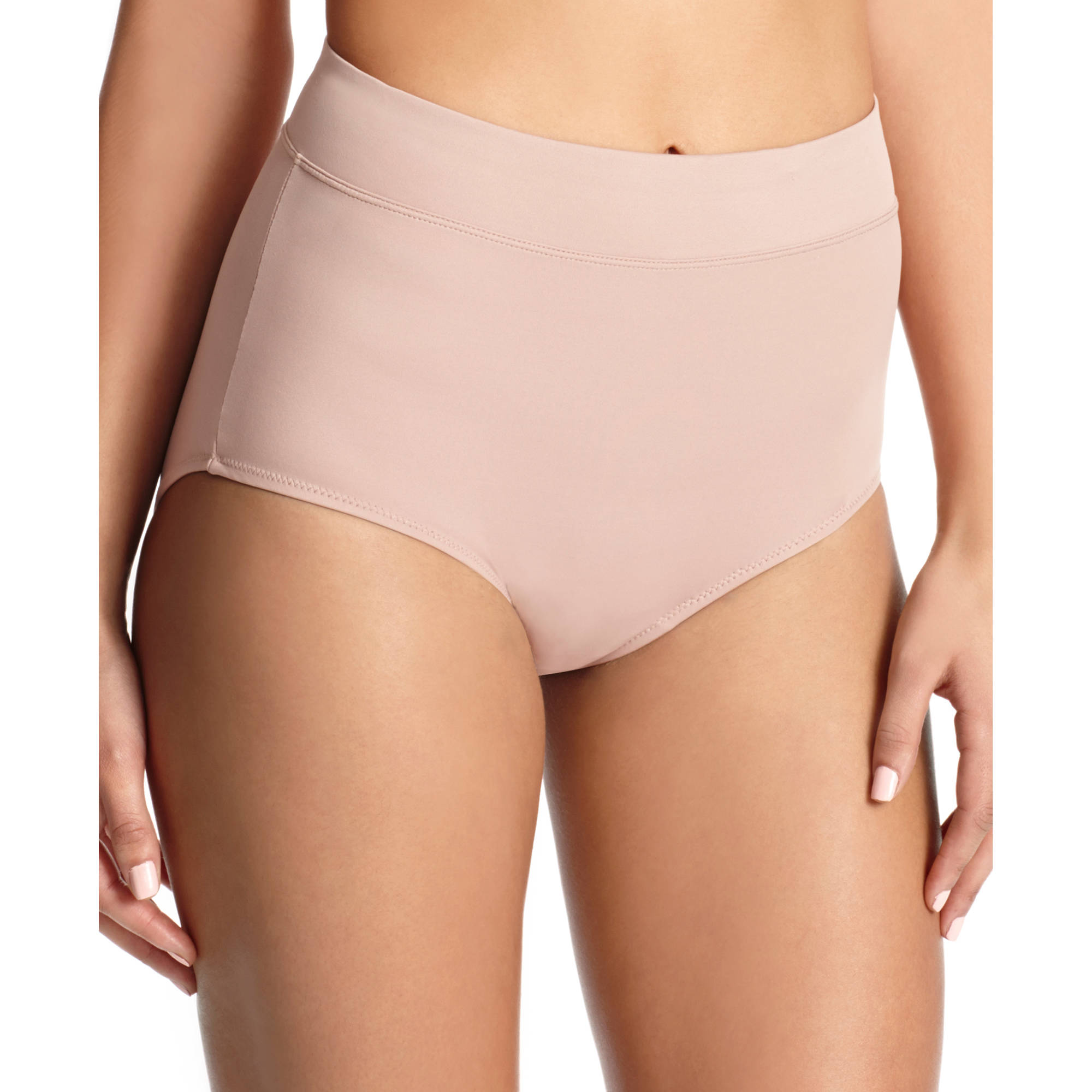Blissful Benefits by Warner's No Muffin Top Brief Panties