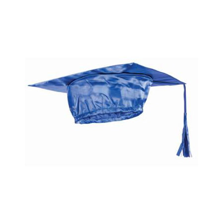 ADULT GRADUATION CAP - BLUE - Tiny Graduation Cap